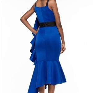 Dresses - NEW Electric Blue Ruffle Dress